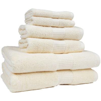 American Dawn Crystal Bay 6-pc. Bath Towel Set