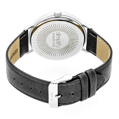 Simplify Unisex Gray Strap Watch-Sim2902