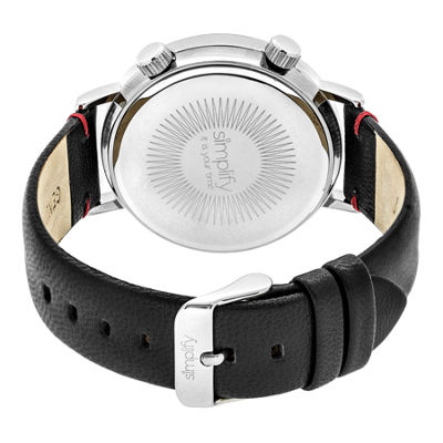 Simplify Unisex Black Strap Watch-Sim3301