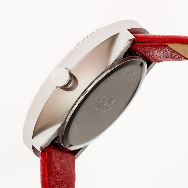 Simplify Unisex Red Strap Watch-Sim4003