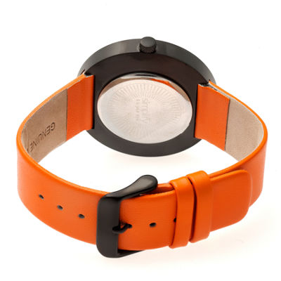 Simplify Unisex Orange Strap Watch-Sim4103