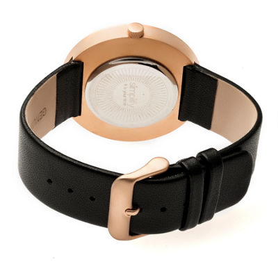 Simplify Unisex Black Strap Watch-Sim4106