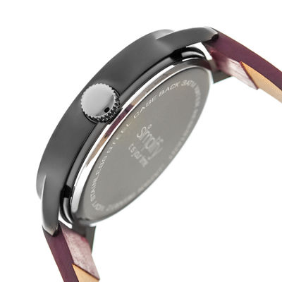 Simplify Unisex Purple Strap Watch-Sim4207