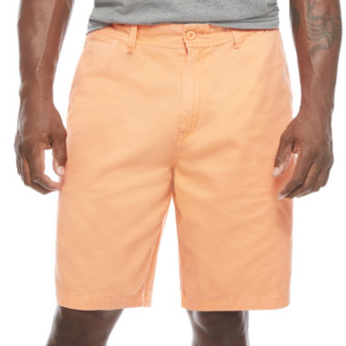 The Foundry Big & Tall Supply Co. Twill Chino Shorts