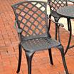 Crosley Sedona Cast Aluminum Patio Dining Chair
