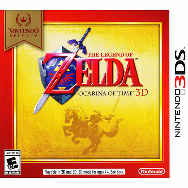 Nintendo 3DS Legend Of Zelda Oca Select Video Game
