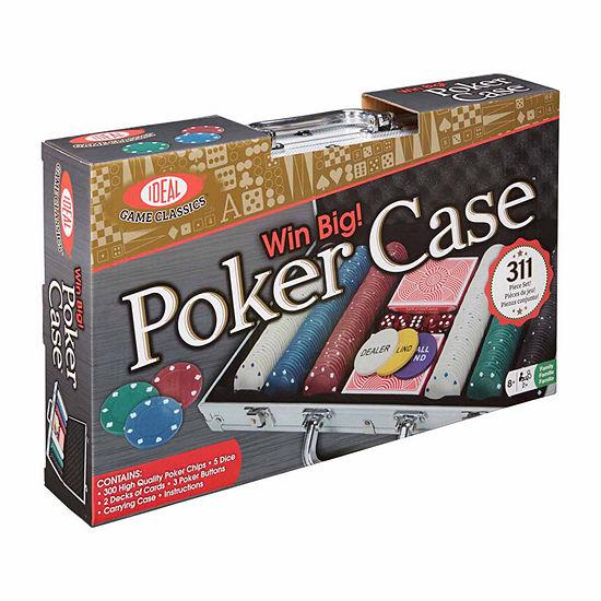 Ideal Win Big 300 Piece Poker Set Poker Chip Set
