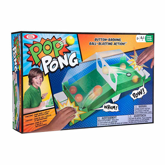 Ideal Pop Pong 7-pc. Table Game