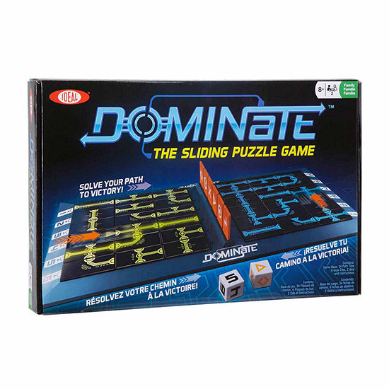 Ideal Dominate The Sliding Puzzle Board Game