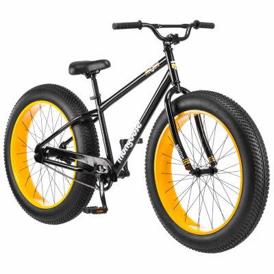 """Mongoose Brutus 26"""" Mens Fat Tire Bike"""