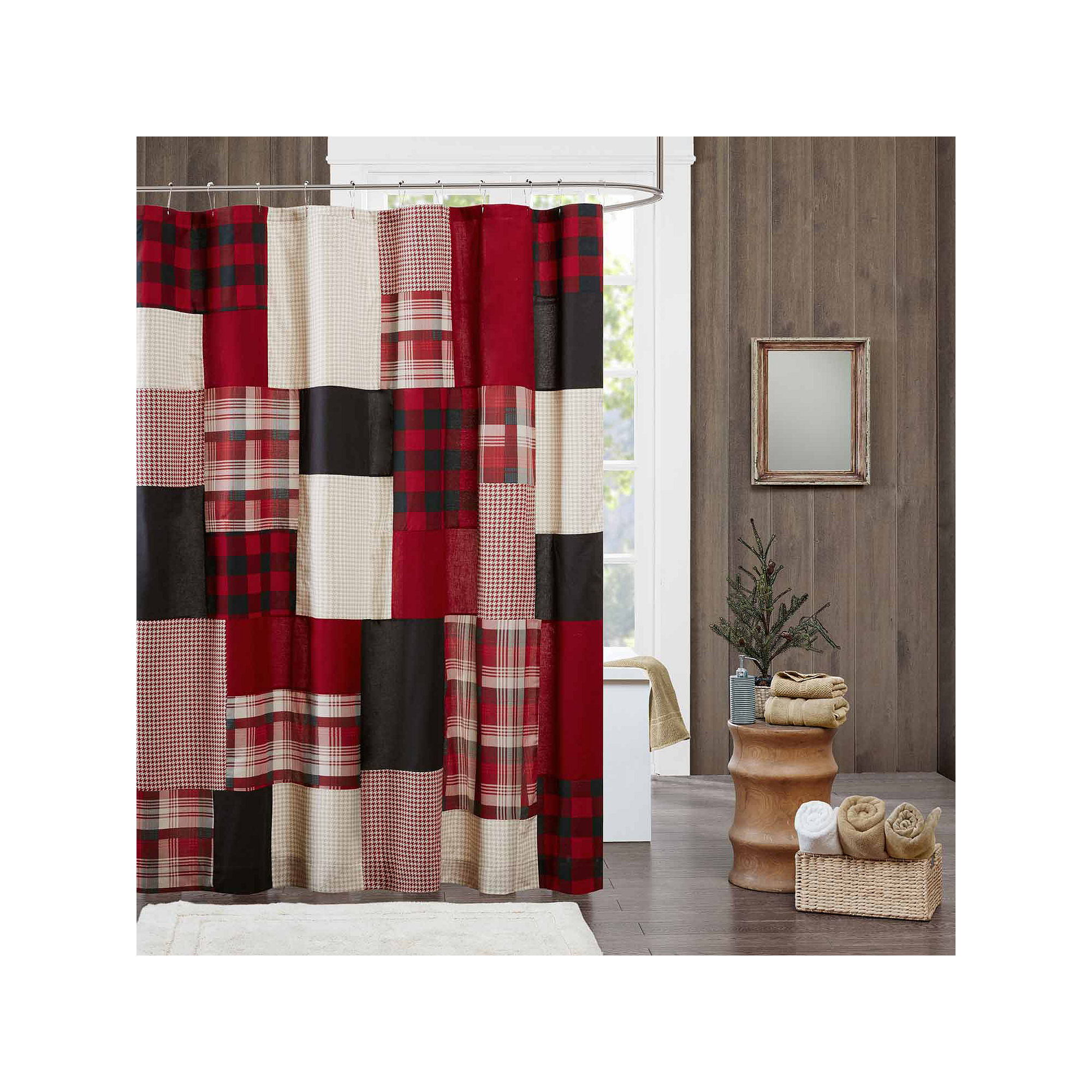Woolrich Sunset Cotton Shower Curtain