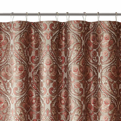 Madison Park Preston Jacquard Shower Curtain