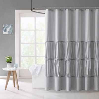 Mi Zone Delia Microfiber Shower Curtain