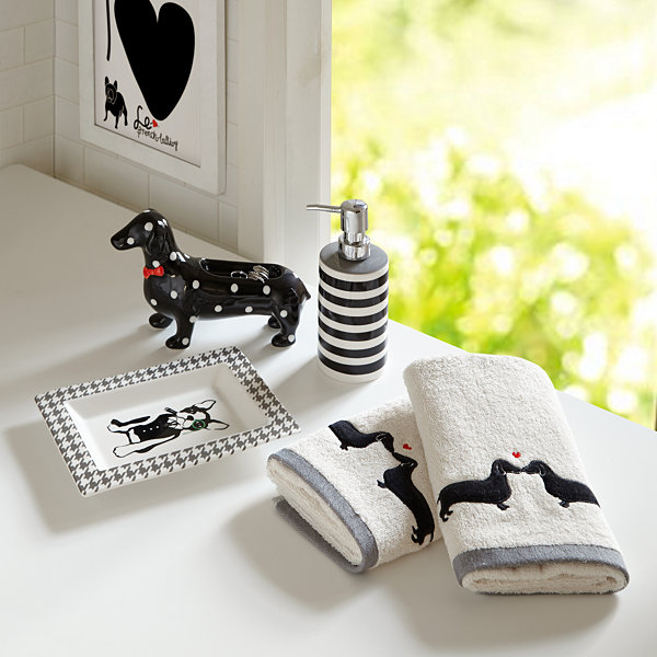 Hannah 5-pc Bath Accessory Set