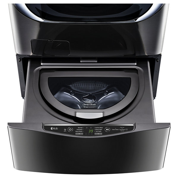 "LG 1.0 cu. ft. 27"" SideKick™ Pedestal Washer, LG TWINWash™ Compatible"