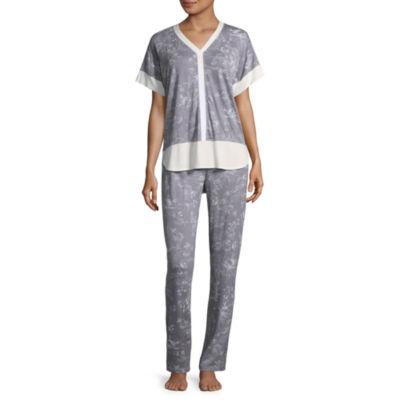 Liz Claiborne Dolman Sleeve Pant Pajama Set