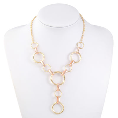 Liz Claiborne Womens Y Necklace
