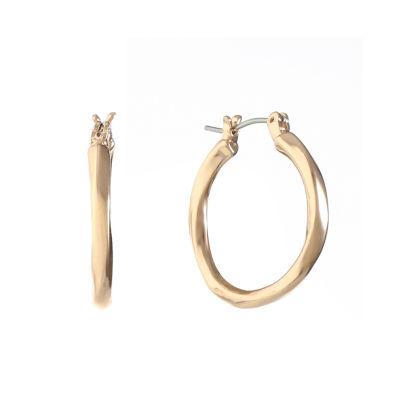 Liz Claiborne 24mm Hoop Earrings