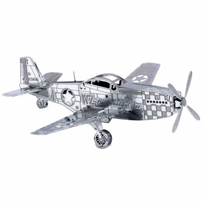 Fascinations Metal Earth 3D Laser Cut Model - P-51Mustang