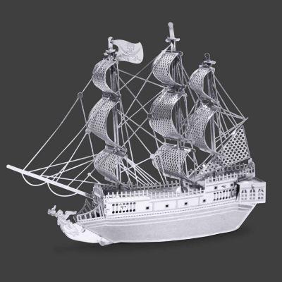 Fascinations Metal Earth 3D Laser Cut Model - Black Pearl