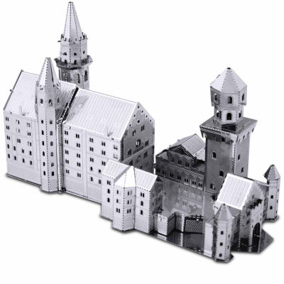 Fascinations Metal Earth 3D Laser Cut Model - Neuschwanstein Castle