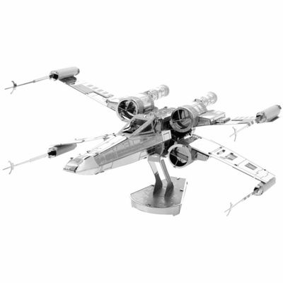 Fascinations Metal Earth 3D Laser Cut Model - StarWars X-Wing Starfighter