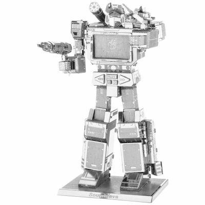 Fascinations Metal Earth 3D Laser Cut Model - Transformers Soundwave