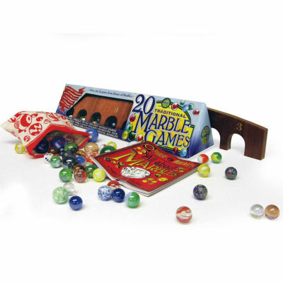 House of Marbles Traditional Marble Games Pack