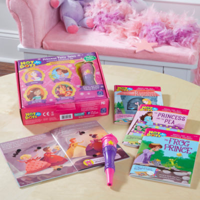 Educational Insights Hot Dots® Jr. Princess FairyTales Set with Magical Talking Wand™ Pen