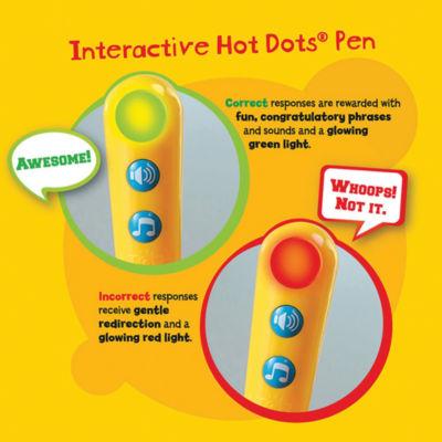 Educational Insights Hot Dots® Jr. Let's Master Grade 2 Math Set with Hot Dots Pen