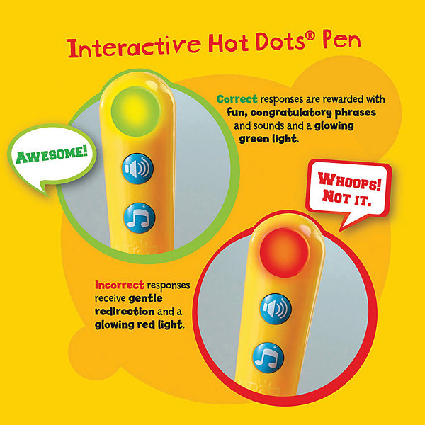 Educational Insights Hot Dots® Jr. Let's Master Grade 3 Reading Set with Hot Dots Pen
