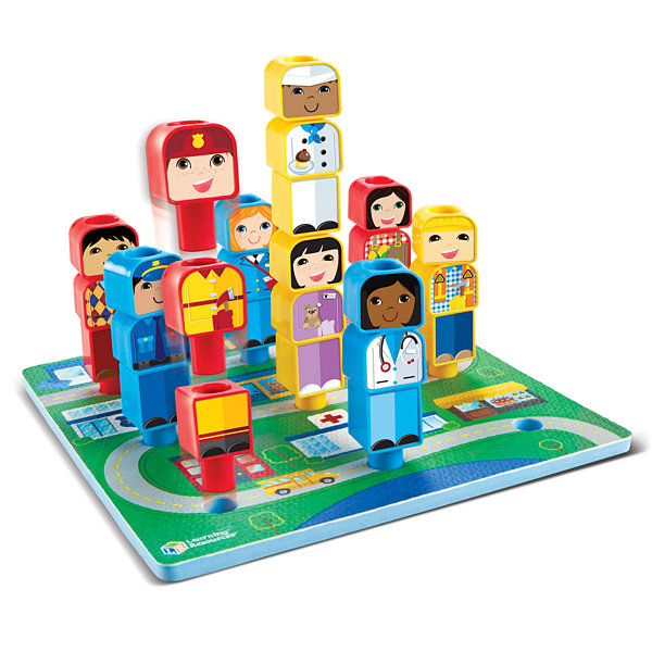 Learning Resources Peg Friends™ Around the Town