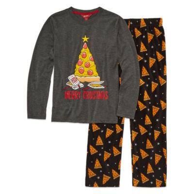 Arizona 2-pc. Merry Crustmas Pajama Set Boys