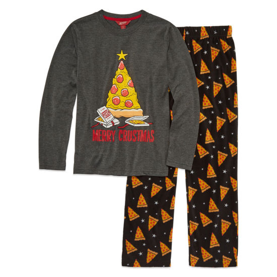Arizona 2-pc. Merry Crustmas Pajama Set Boys