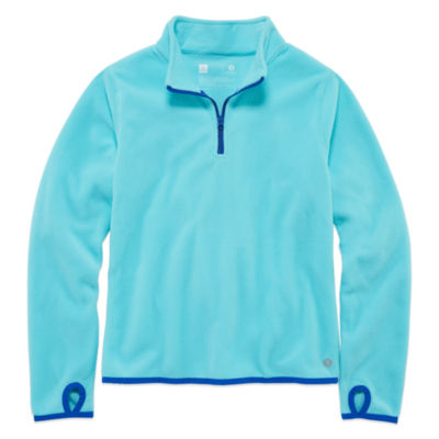 Xersion Performance 1/4 Zip Fleece Pullover - Girls' 7-16 and Plus