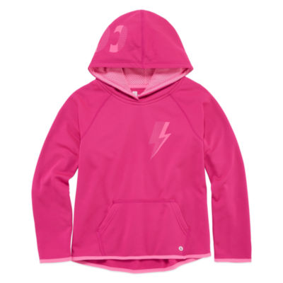 Xersion Performance Fleece Pullover Hoodie - Girls' 7-16 and Plus