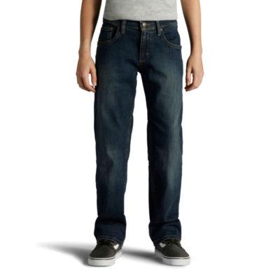 Lee Regular Fit Straight Leg Jeans Boys
