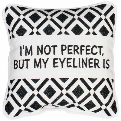 Thro by Marlo Lorenz Zoey Eyeliner Mini Throw Pillow