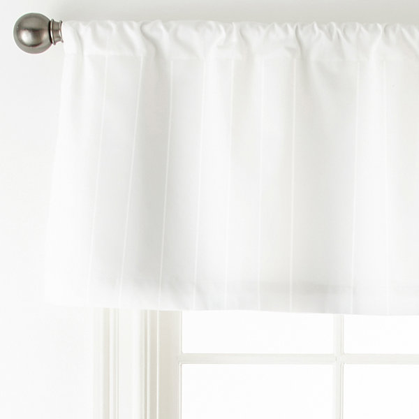 Royal Velvet Rod-Pocket Tailored Valance