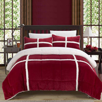 Chic Home Chloe New 7-pc. Midweight Comforter Set