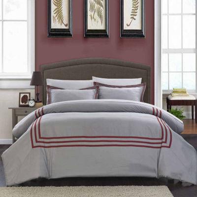 Chic Home Paige 3-pc. Duvet Cover Set