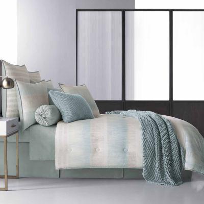 Five Queens Court Vance 4-pc. Stripes Heavyweight Comforter Set