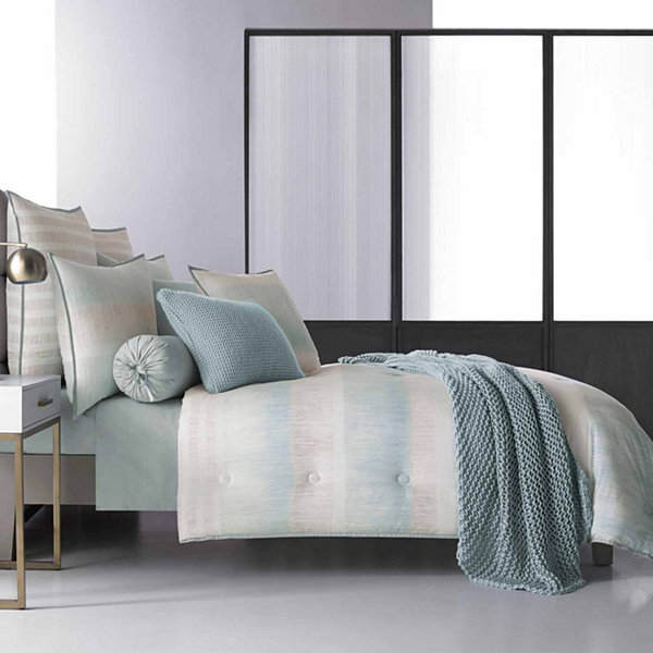 Five Queens Court Vance 4-pc. Stripes Midweight Comforter Set