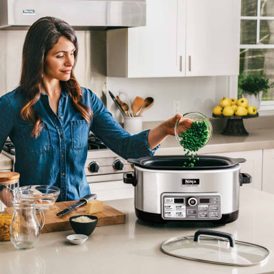 Ninja® Cooking System with Auto-iQ™ (Slow Cooker, Steamer, Bake, Sear/Saute/Brown) CS960