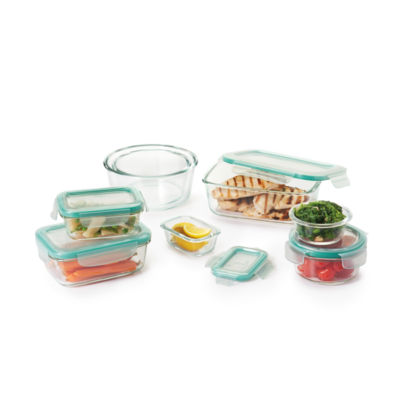 Oxo Good Grips 16-Pc Snap Glass Container Set