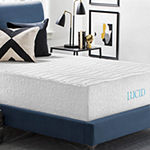 Lucid 16 Inch Plush Memory Foam and Latex Mattress
