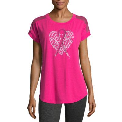 Xersion Breast Cancer Awareness Dolman T-Shirt