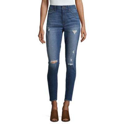 a.n.a High Rise Skinny Ankle Jean