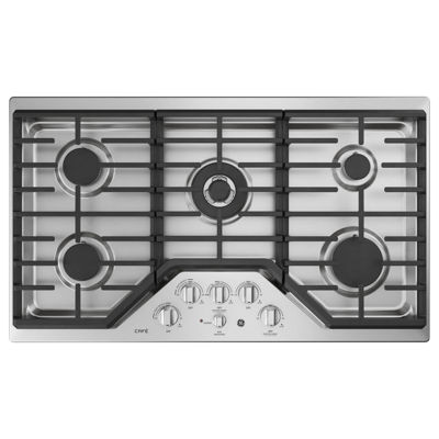 "GE Cafe´™ Series 36"" Built-In Gas Cooktop"