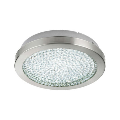 Eglo Arezzo 2 LED 11 inch Matte Nickel Flush MountCeiling Light